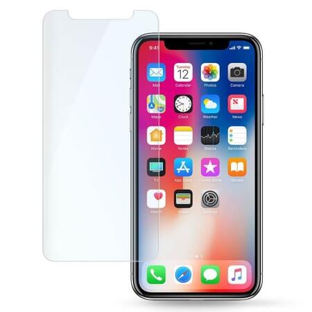 Apple iPhone X Panzerglas Hartglas Echt Glas Panzerfolie Display Glas Schutz Folie 9H