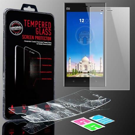 Xiaomi Mi3 Panzerglas Hartglas Echt Glas Panzerfolie Display Glas Schutz Folie 9H