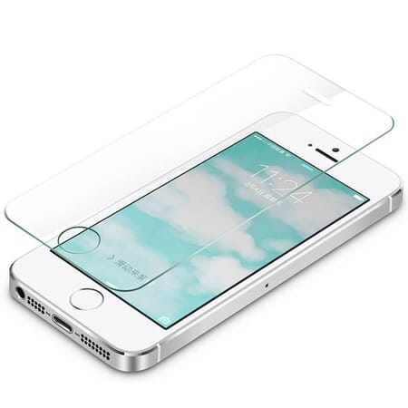 Apple iPhone 5 / 5s Display Schutz Folie Panzerglas Echtglas 9H Panzerfolie