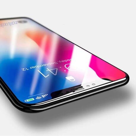 3D Panzerglas für iPhone X Displayschutz Full Cover Glas Curved Schutzglas