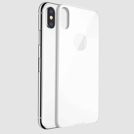iPhone X Panzerglas Rückseite, Schutzfolie 5D Vollständige Abdeckung Displayschutzfolie 9H Härte