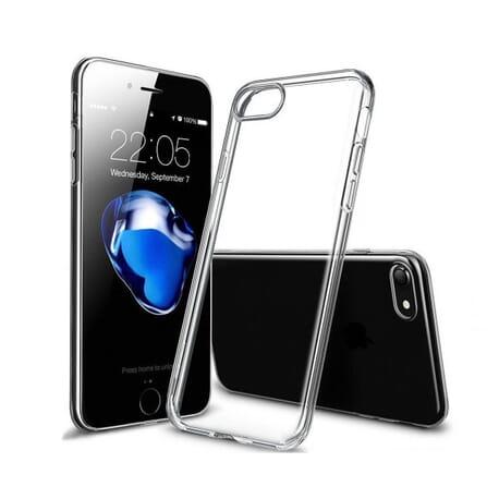 Silikon Hülle für Apple iPhone 7 Schutzhülle Schale Etui Bumper Cover