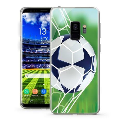 Handy Hüllen für Samsung Galaxy Fußball Tor schließen Design Case Motiv