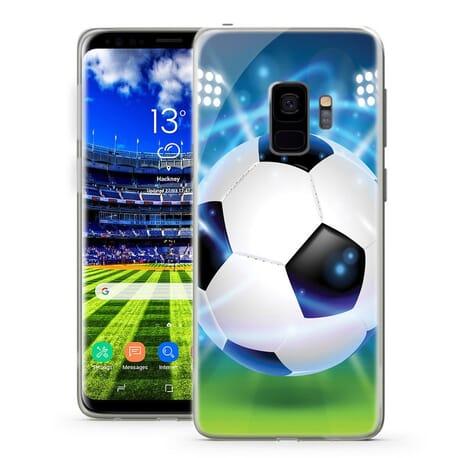 Handy Hüllen für Samsung Galaxy Fußball & Fußballfeld Design Case Motiv