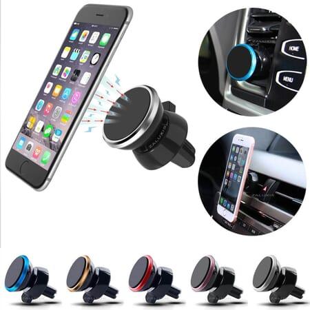Auto KFZ PKW LKW Universal Magnet Handy Halterung 360° Lüftungsventil Smartphone